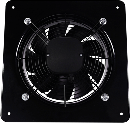 Axiaal ventilator vierkant 200mm – 780m³/h – aRok