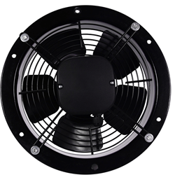 Axiaal ventilator rond 350mm – 2450m³/h – aRos