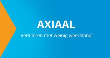Axiaalventilatoren voor het ventileren van stallen en fabriekshallen met weinig weerstand