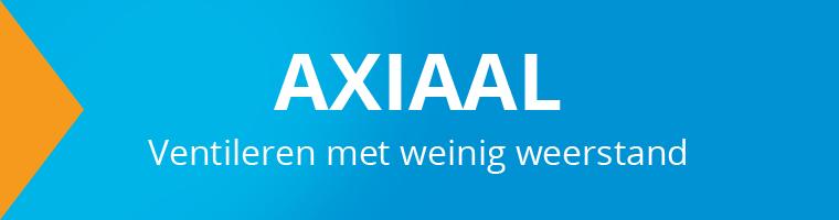 Axiaalventilator voor de ventilatie van stallen en fabriekshallen voordelig bij ventilatieland