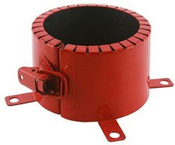 Brandmanchet voor buis 100 mm opbouw 4u astroflame