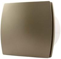 Badkamer ventilator 100 mm GOUD met TIMER en VOCHTSENSOR - design T100HTG-1