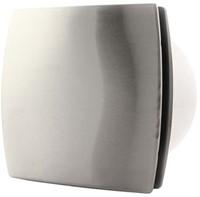 Badkamer ventilator 100 mm RVS TIMER en VOCHTSENSOR - design T100HTi-1