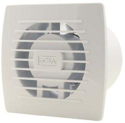 Badkamer ventilator 100 mm WIT met TIMER en VOCHTSENSOR - E100HT