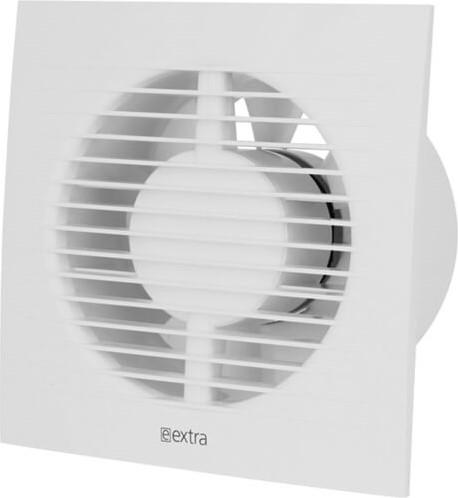 Badkamer ventilator diameter 125 mm WIT met TIMER - EE125T