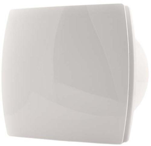 Witte Badkamermeubels ~ Badkamer ventilator 100 mm WIT TIMER en VOCHTSENSOR  design T100HT