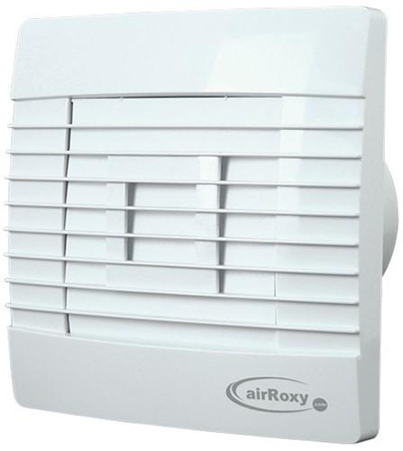 Badkamer ventilator 120 mm wit Automatische Sluitklep - Prestige 120ZG