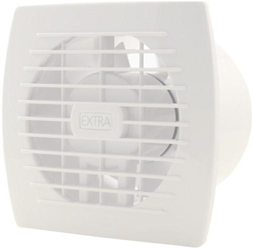 Badkamer ventilator mm wit met timer en vochtsensor e ht