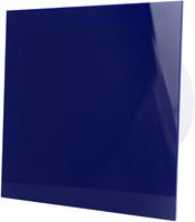 Badkamer ventilator blauw