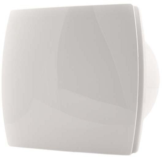 Badkamer ventilator diameter 100 mm WIT - design T100 bij ...