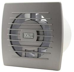 Badkamer ventilator diameter 100 mm ZILVER - basis E100S