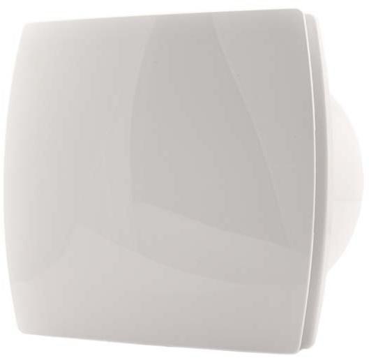 Badkamer ventilator diameter 120 mm WIT - design T120 bij ...
