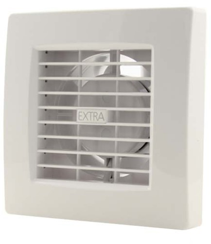 Badkamer ventilator diameter 120 mm WIT - luxe X120