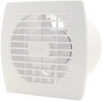 Badkamer ventilator diameter 120 mm WIT met TIMER - E120T-1