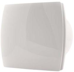 Badkamer ventilator diameter 120 mm WIT met TIMER en VOCHTSENSOR - design T120HT