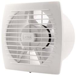 Badkamer ventilator diameter 150 mm WIT met TIMER - E150T