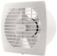 Badkamer ventilator diameter 150 mm WIT met TIMER en VOCHTSENSOR - E150HT-1