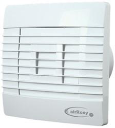 Badkamer ventilator met Automatische Sluitklep Vochtsensor en Timer 100 mm wit - Prestige 100ZGHS