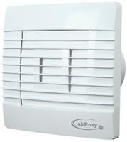 Badkamer ventilator met Automatische Sluitklep Vochtsensor en Timer 150 mm wit - Prestige 150ZGHS