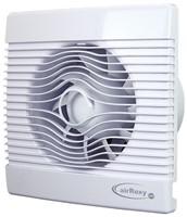 Badkamer ventilator met Vochtsensor en Timer 100 mm wit - pRemium100HS-1