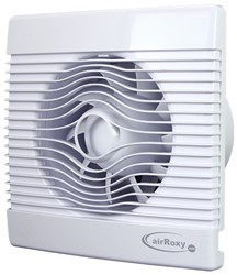 Badkamer ventilator met Vochtsensor en Timer 100 mm wit - pRemium100HS