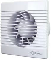 Badkamer ventilator met Vochtsensor en Timer 100 mm wit - pRim100HS-1
