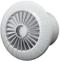 Badkamer ventilator rond diameter 100 mm wit met VOCHTSENSOR EN TIMER - 100BBHS