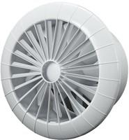 Badkamer ventilator rond diameter 150 mm wit met TIMER - 150BBTS-1
