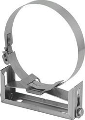 Beugel Ø 100 mm regelbaar 5-9 I304