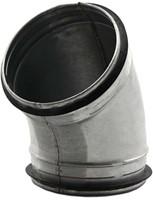 Ronde spiro bocht 45° Ø 125mm tbv gegalvaniseerde buis-2