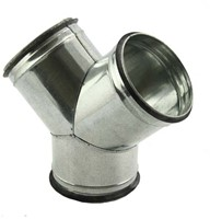 Broekstuk 45° Ø160 mm - 160 mm voor spirobuis-1