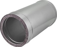 DW diameter  150 mm (150/200) buis L1000 I316L/I304 (D0,5/0,6)