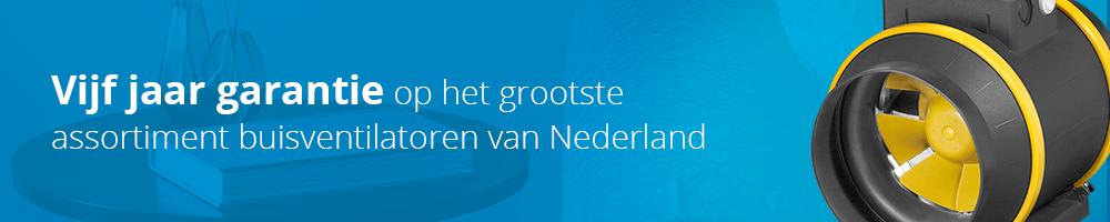 Bij Ventilatieland vindt u het groostste assortiment buisventilatoren van Nederland, universeel toepasbaar en met standaard 5 jaar garantie!