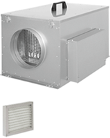 Compact luchttoevoersysteem met verwarming