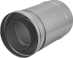 Concentrische Ø 80 - 125 mm schuifstuk I316L/I304 (D0,5/0,5)
