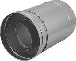 Concentrische diameter  100 - 150 mm schuifstuk I316L/I304 (D0,5/0,5)