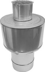 Concentrische diameter  100 - 150 mm kap I316L/I304 (D0,5/0,5)