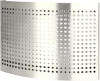 RVS ventilatie toevoer ventiel Ø 100 mm met geperforeerde kap voor wandmontage - DTQAY100Y