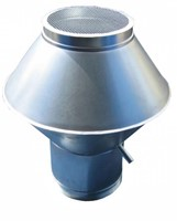 Deflectorkap rond 125 mm sendzimir verzinkt-1