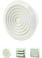 Diverse ventilatieroosters kunststof