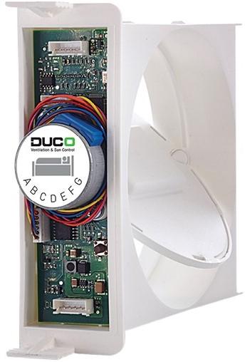 Duco CO2 regel klep 30m3/h - geschikt voor slaapkamers bij ...
