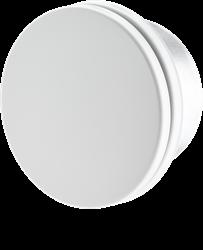 Ventilatie toevoerventiel design WIT met klemveren Ø 80mm DVSR080