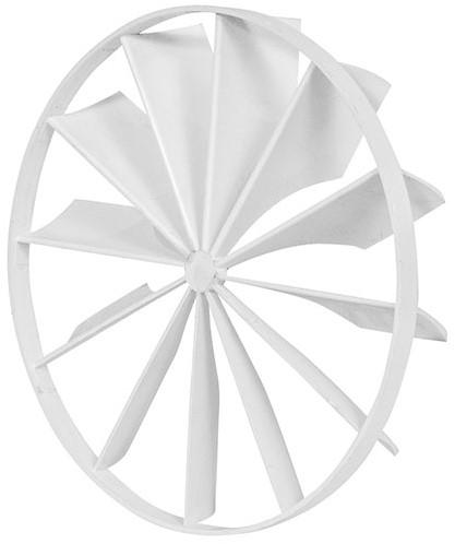 Kunststof terugslagklep diameter: 125mm - EEV125
