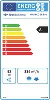 Energielabel HRU Eco Bal LP
