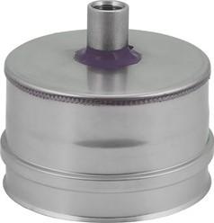 EW Ø 130 mm condensdop I316L (D0,5)
