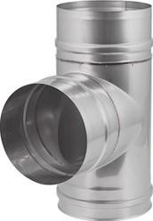 EW diameter  250 mm T-stuk 90 gr I316L (D0,5)