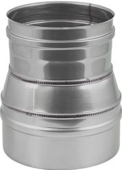 EW diameter  150 mm verloop conisch I316L (D0,5)