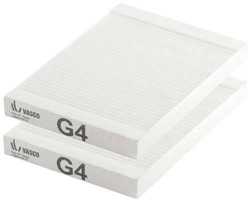 Vasco D150EP II WTW filterset G4
