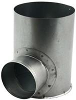 Gegalvaniseerde instortpot Ø125mm - Ø80mm-1