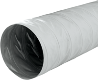 Greydec polyester ventilatieslang Ø 152 mm grijs (10 meter)